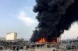 Lại nổ lớn, hỏa hoạn ở cảng Beirut