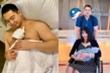 Lan Khuê tươi tắn xuất viện sau 3 ngày sinh con đầu lòng với chồng đại gia