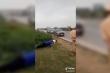 CSGT phạt tài xế chống đẩy giữa đường vì không đeo khẩu trang phòng Covid-19