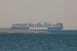 Siêu tàu chặn kênh đào Suez vẫn bị giữ vì thiếu tiền bồi thường