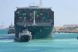 Video: Tàu Ever Given chắn kênh Suez di chuyển trở lại