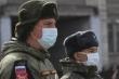 Gần 900 binh sỹ Nga mắc COVID-19
