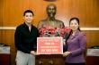 Noo Phước Thịnh ủng hộ 300 triệu đồng chống dịch Covid-19 và hạn mặn ở miền Tây