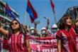 Phụ nữ Myanmar trong biểu tình chống đảo chính