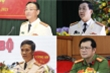Chân dung 4 tân Giám đốc công an tỉnh vừa được bổ nhiệm