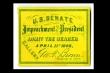 Luận tội Tổng thống: Chiếc vé được săn lùng nhất ở Washington hơn 150 năm trước