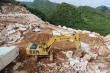 Công an Nghệ An vây bắt điểm khai thác đá trắng trái phép quy mô lớn