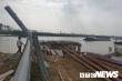 Chưa được phép thi công, Cty Xăng dầu Hưng Yên đã ép cọc phá hoại kè sông