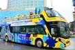Thí điểm vận chuyển khách du lịch bằng ô tô 2 tầng ở Bình Thuận