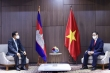 Thủ tướng Phạm Minh Chính gặp gỡ lãnh đạo Campuchia, Singapore, Malaysia