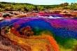 Kỳ lạ dòng sông liên tục đổi màu như cầu vồng, huyền ảo đến mê hoặc