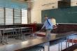Nhiều trường học ở Vĩnh Phúc chưa phun thuốc khử trùng phòng chống Covid-19