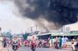 Cháy lớn tại công ty sản xuất bao bì ở Tiền Giang