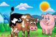 Lợn và bò, con nào ngu hơn?