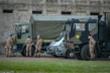 Italy: Bệnh nhân la liệt ngoài hành lang, xe quân dụng chở quan tài đi hoả thiêu