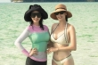 Hoa hậu Hà Kiều Anh và Hoa hậu Giáng My khoe dáng gợi cảm ở tuổi U50