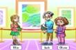 Thử tài tinh mắt: Ai là chủ nhân của bức tranh?