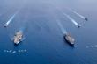 Mỹ - Trung liên tiếp tập trận, Biển Đông dậy sóng