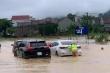 Nghệ An: Mưa lớn, ngập nặng, nhiều tuyến đường phải tạm 'đóng cửa'