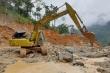 Mở đường xuống hiện trường sạt lở khiến 22 người chết và mất tích ở Trà Leng