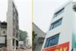 Ảnh: Đường chưa làm xong, nhà siêu mỏng, siêu méo đã mọc lên nhan nhản ở Hà Nội