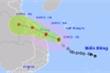 Áp thấp nhiệt đới mạnh lên thành bão giật cấp 10, tiến vào đất liền miền Trung