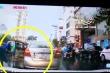 Clip: Nam thanh niên đi ô tô cướp vải của người bán rong