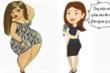 Cô gái say rượu quyết tâm giảm cân