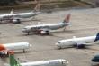 Hình ảnh máy bay 'nằm đất' la liệt ở Nội Bài và Tân Sơn Nhất