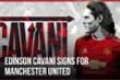 Man Utd chiêu mộ thành công Cavani