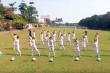 Học viên lò bầu Đức nhảy dân vũ rửa tay đầy lùi Covid-19