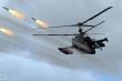 Video: Trực thăng 'cá sấu' Ka-52 lần đầu khai hỏa với tên lửa chống tăng Vikhr-1