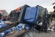 Tạm giữ tài xế xe tải lật đè chết 5 người trên Quốc lộ 5 ở Hải Dương