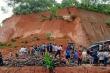 Sạt lở đất vùi lấp người phụ nữ ở Yên Bái