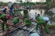 Lốc xoáy khiến 37 căn nhà ở Kiên Giang bị sập và tốc mái