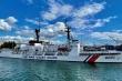 Tàu cảnh sát biển 8021 lên đường về Việt Nam