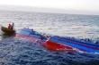 Chìm tàu tại Hà Tĩnh: Tìm thấy thi thể thủy thủ mất tích sau 6 ngày
