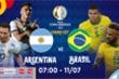Nhận định bóng đá Brazil vs Argentina chung kết Copa America 2021