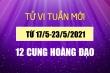 12 cung hoàng đạo tuần mới 17/5-23/5: Song Tử gặp khó khăn về tài chính