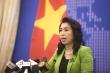 Bộ Ngoại giao: Việt Nam theo dõi sát diễn biến ở đá Ba Đầu
