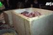 Hà Tĩnh: Bắt quả tang cơ sở dùng hàn the ướp thịt thối