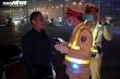 CSGT trắng đêm kiểm tra nồng độ cồn và ma túy trên cao tốc Pháp Vân - Cầu Giẽ