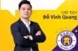 Hà Nội FC mất ngôi vô địch: Thất bại đáng buồn của chủ tịch CLB Đỗ Vinh Quang