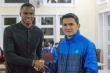 HLV Kiatisak đón tiền đạo Brazil đến HAGL