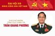 Infographic: Sự nghiệp Phó Chủ nhiệm Tổng cục Chính trị Trần Quang Phương