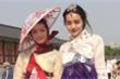 Hoa hậu Kiều Ngân hóa nàng Dae Jang Geum xinh đẹp, dịu dàng