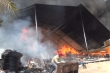 Nam nhân viên phóng hỏa đốt nhà kho xí nghiệp quân đội
