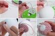 Sao phải tốn tiền khi có thể tự làm quả cầu trang trí Noel chỉ bằng xốp?