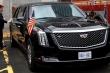 Bên trong xe 'quái thú' mới của ông Trump giá 16 triệu USD có gì?