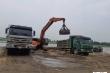 Bãi tập kết vật liệu xây dựng không phép hoạt động rầm rộ 'thách thức' cơ quan chức năng Bắc Ninh